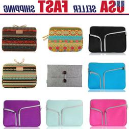 11 13.4 15.6 inch Laptop Sleeve Case Bag Pouch Cover For Mac