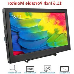 11.6 Inch LCD Monitor IPS HD Portable 1080P HDMI for Raspber