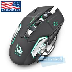 Wireless Laptop Mouse Optical Gaming Mouse 2.4GHz Cordless M