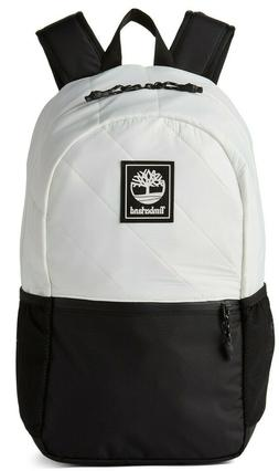 TIMBERLAND CLASSIC ONE SIZE SCHOOL BACKPACK BLACK WHITE Lapt