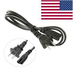 AC Power Cord Cable for PS4 & PS3 Slim Super Slim PS2 XBOX P