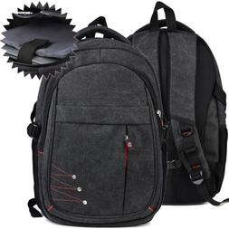 All Around Grey Tech Backpack with Isolated 11 11.6in Laptop