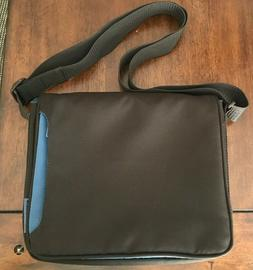 Belkin Bag Padded Chocolate Brown Blue Accents Laptop Comput