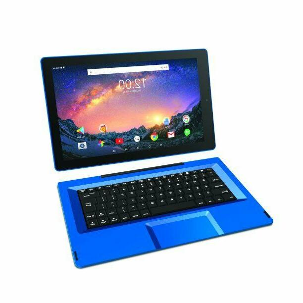 "11.5"" with OS, Blue laptop"