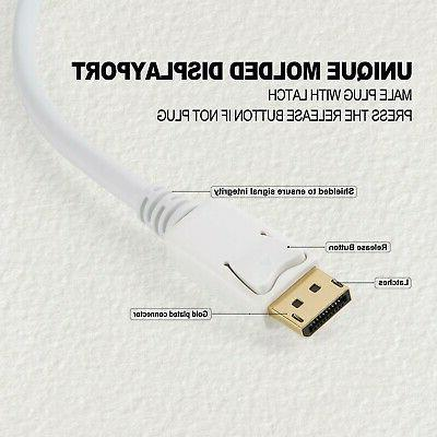 DisplayPort HDMI Cable, CableCreation to Male