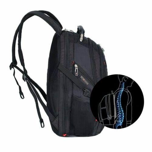 Swiss Multifunctional Laptop Backpack Charge Port