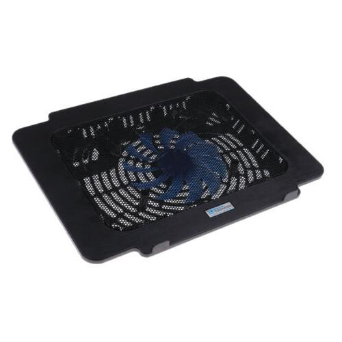 One Fan Laptop Cooling Pad Cooler Mat Stand, 5VDC Thin Coole