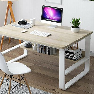 Wood Computer Table Desk Office Furniture PC