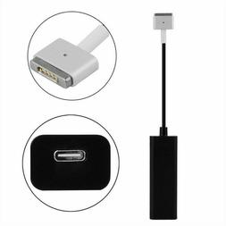 MagSafe-2 T-Tip to USB-C Female 45W 60W 85W Laptop Adapter F