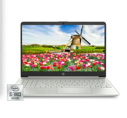 "NEW HP 15.6"" HD Intel 10th Gen i3-1005G1 3.4GHz 4GB RAM 128G"