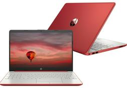 "NEW HP 15.6"" HD Red Laptop Intel Quad Core 2.7GHz 4GB RAM We"