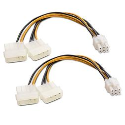Cable Matters  6 Pin PCIe to Molex  Power Cable 6 Inches