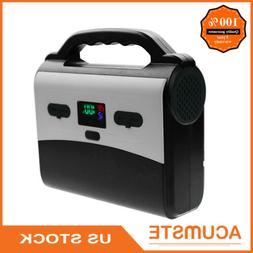 Portable Power Bank Camping Laptop Charger With AC Outlet /