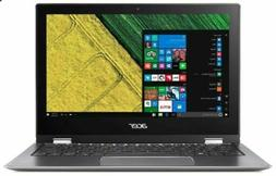 """Acer Spin 1 SP111-32N-P0QE Touch 11.6"""" 2-in-1 Laptop Compute"""