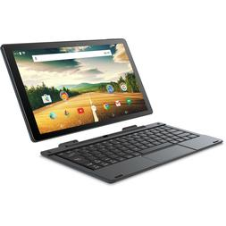 Tablet PC Laptop 10.1 inch Android 2in1 Touchscreen 32GB Qua