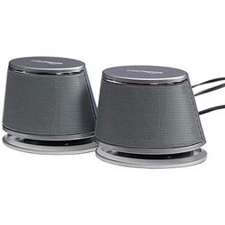 AmazonBasics USB-Powered Computer Speakers with Dynamic Soun