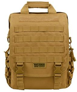 """Seibertron waterproof Molle Tactical 15.6""""inch Laptop Sling"""